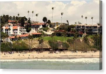 San Clemente Painted 9 Canvas Print
