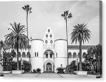 San Diego State University Hepner Hall  Canvas Print by University Icons