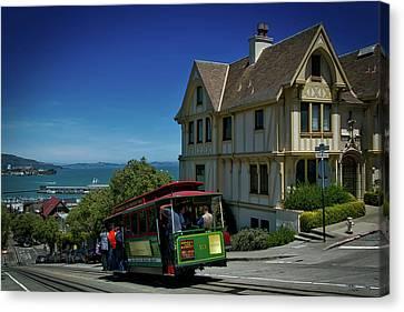 San Francisco Cable Car Canvas Print