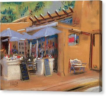 Santa Fe Cafe Canvas Print by Donald Maier