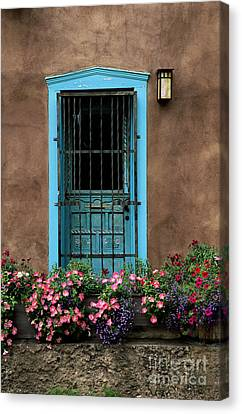 Santa Fe Door #1 Canvas Print