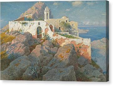 Santa Maria A Cetrella  Anacapri Canvas Print