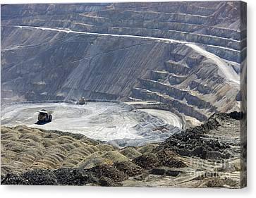 Santa Rita Copper Mine Canvas Print