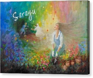 Sarayu Canvas Print
