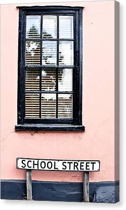 School Street Canvas Print by Tom Gowanlock