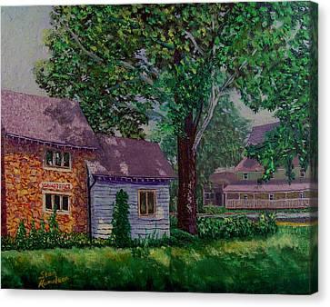 Schwabs Fudge Canvas Print by Stan Hamilton