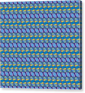 Science Fair Toys Canvas Print by Modern Metro Patterns and Textiles