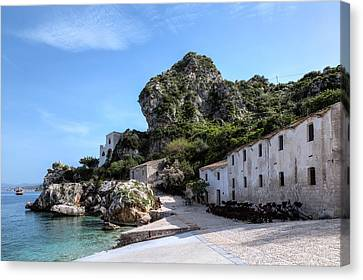 Scopello - Sicily Canvas Print by Joana Kruse