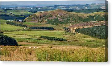 Scotland View From The English Borders Canvas Print