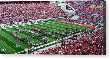 Script Ohio Canvas Print by Peter  McIntosh