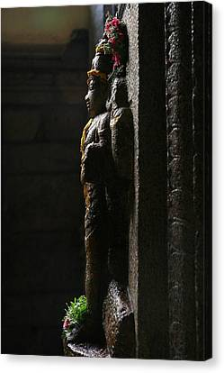 Sculpture Canvas Print by Deepak Pawar