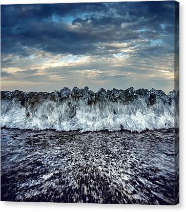 Sea Energy Canvas Print by Stelios Kleanthous