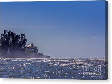 Turbulent Skies Canvas Print - Sea Mist by Marvin Spates