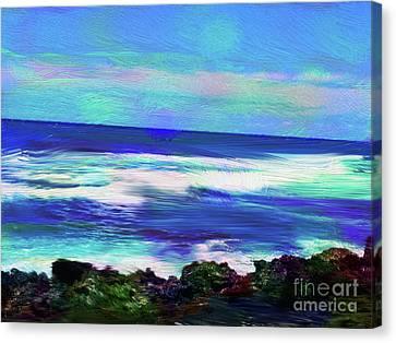 Canvas Print - Seascape by Karen Nicholson