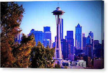Seattle Afternoon Canvas Print