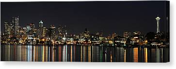 Seattle Skyline Canvas Print by Michael Gass