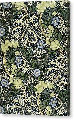 Seaweed Pattern Canvas Print