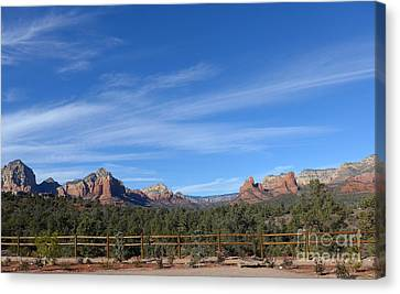 Sedona Beauty  Canvas Print by Marlene Rose Besso