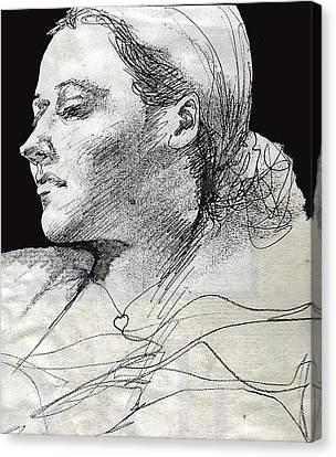 Self Portrait Canvas Print