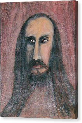 Self Portrait Canvas Print by Van Winslow