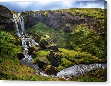Selvallavatn - Iceland Canvas Print by Joana Kruse