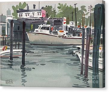 Shark River Inlet Canvas Print by Donald Maier