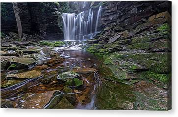 Shays Run Canvas Print by Michael Donahue
