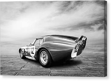 Shelby Daytona Coupe Canvas Print by Peter Chilelli
