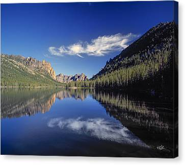 Majesty Canvas Print - Ship Island Lake by Leland D Howard