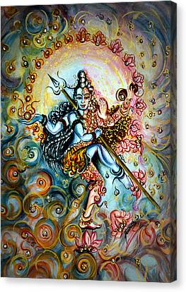 Shiva Shakti Canvas Print by Harsh Malik