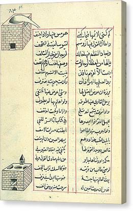 Shudhur Al-dhahab, Islamic Alchemy Canvas Print