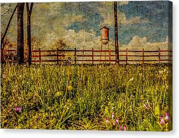 Siluria Cotton Mill Canvas Print by Phillip Burrow