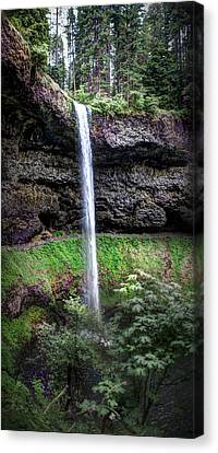 Silver State Waterfall Canvas Print