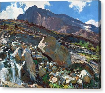 Simplon Pass Canvas Print