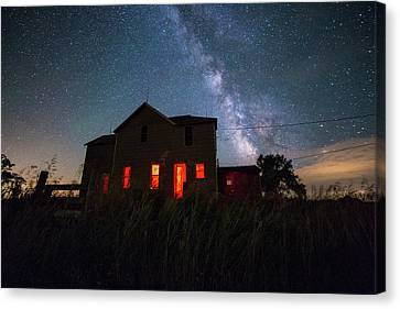 Abandoned House Canvas Print - Sinister by Aaron J Groen