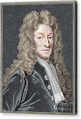Sir Christopher Wren, Architect Canvas Print by Science Source