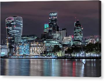 Skyline Of London Canvas Print by Joana Kruse
