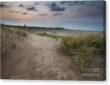 Sleeping Bear Point Trail Canvas Print by Twenty Two North Photography