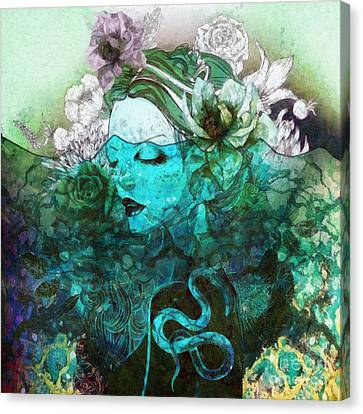 Canvas Print - Sleeping Beauty by Mo T