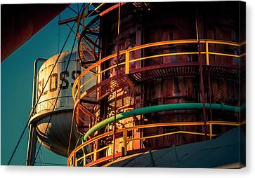 Sloss Furnaces Canvas Print by Phillip Burrow