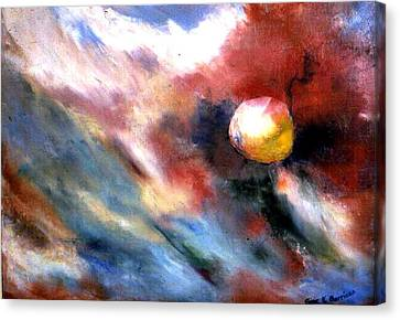 Small Planet Canvas Print by Gene Garrison
