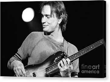 Smiling Pastorius Canvas Print by Philippe Taka