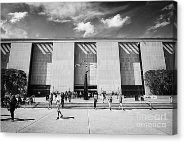 Smithsonian Museum Canvas Print - smithsonian national museum of american history building Washington DC USA by Joe Fox