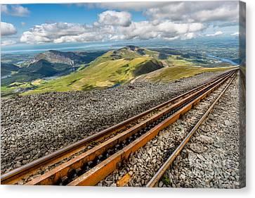 Snowdon Mountain Railway Canvas Print