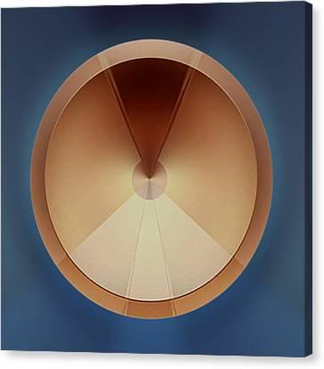 Some Kinda Ventilator Canvas Print by Peter Lloyd