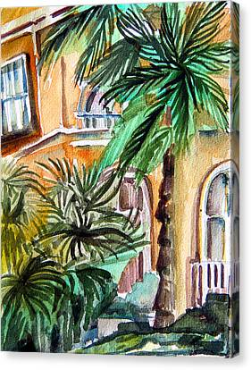 Sorrento Canvas Print by Mindy Newman