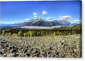 Sourdough Peak Canvas Print