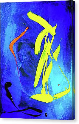 Canvas Print featuring the photograph Space Dance by Elf Evans