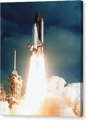 Solid Canvas Print - Space Shuttle Launch by NASA Science Source