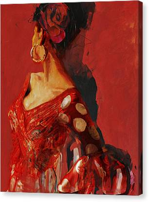 Senorita Canvas Print - Spanish Culture 27 by Corporate Art Task Force